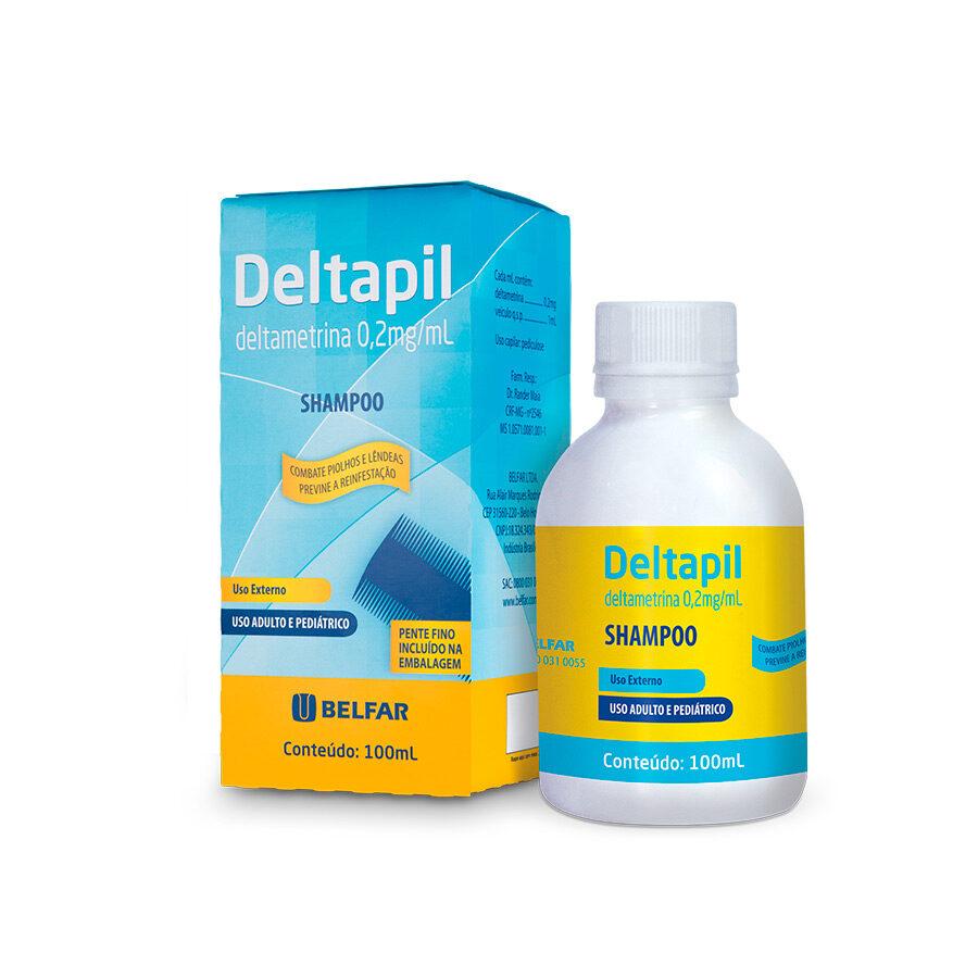 Deltapil shampoo 100 mL<BR><H5>Deltametrina 0,2mg/mL</H5>