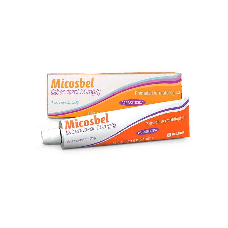 Micosbel Pomada 30 g<BR><H5>Tiabendazol 50mg/g</H5>