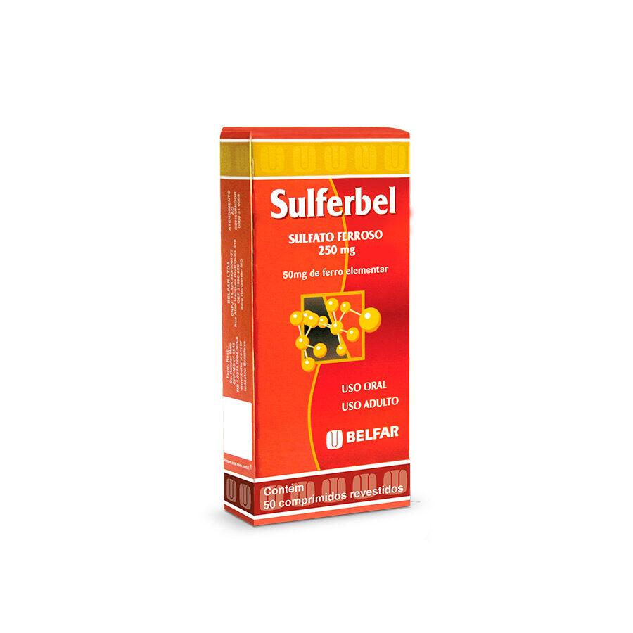 Sulferbel 50 mg. 50 Comp.