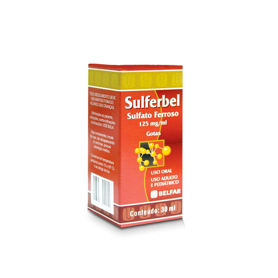 Sulferbel 125 mg. Gotas. 30 mL