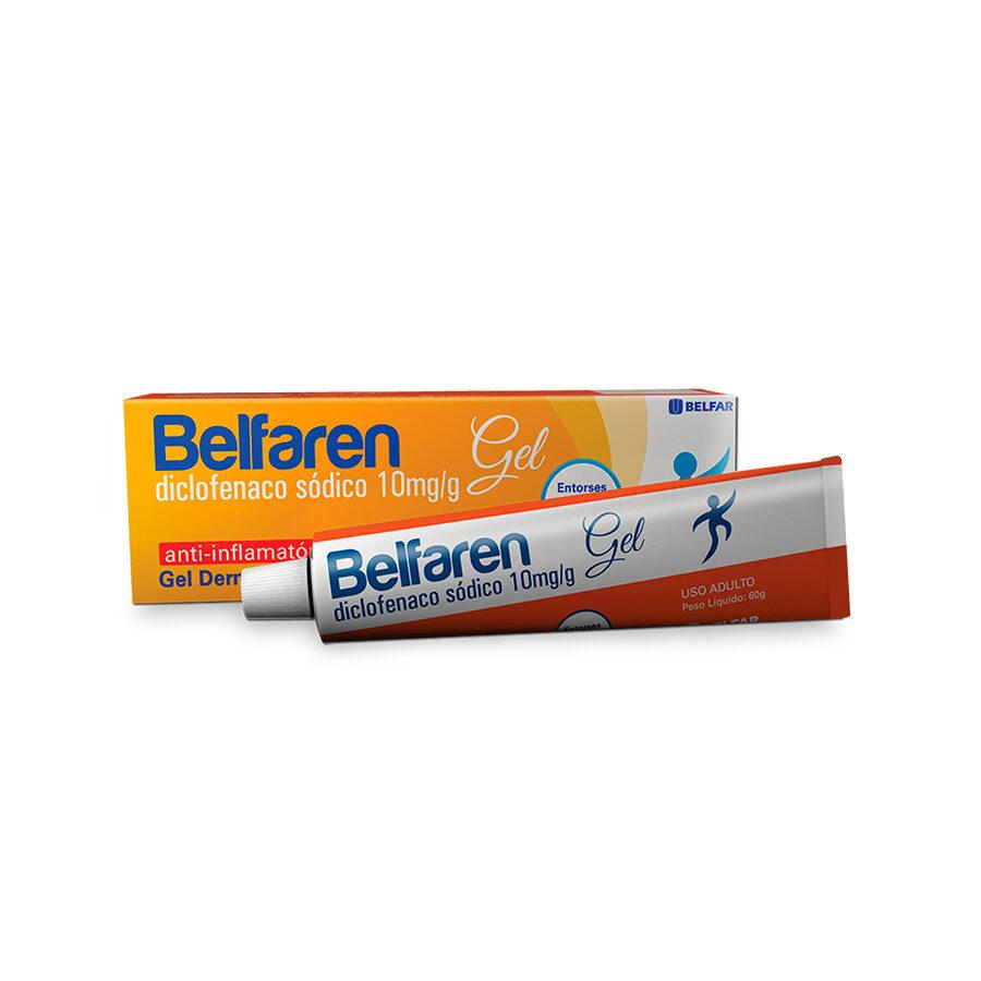 Belfaren Gel  60 g <BR><H5>Diclofenaco sódico 10mg/g</H5>