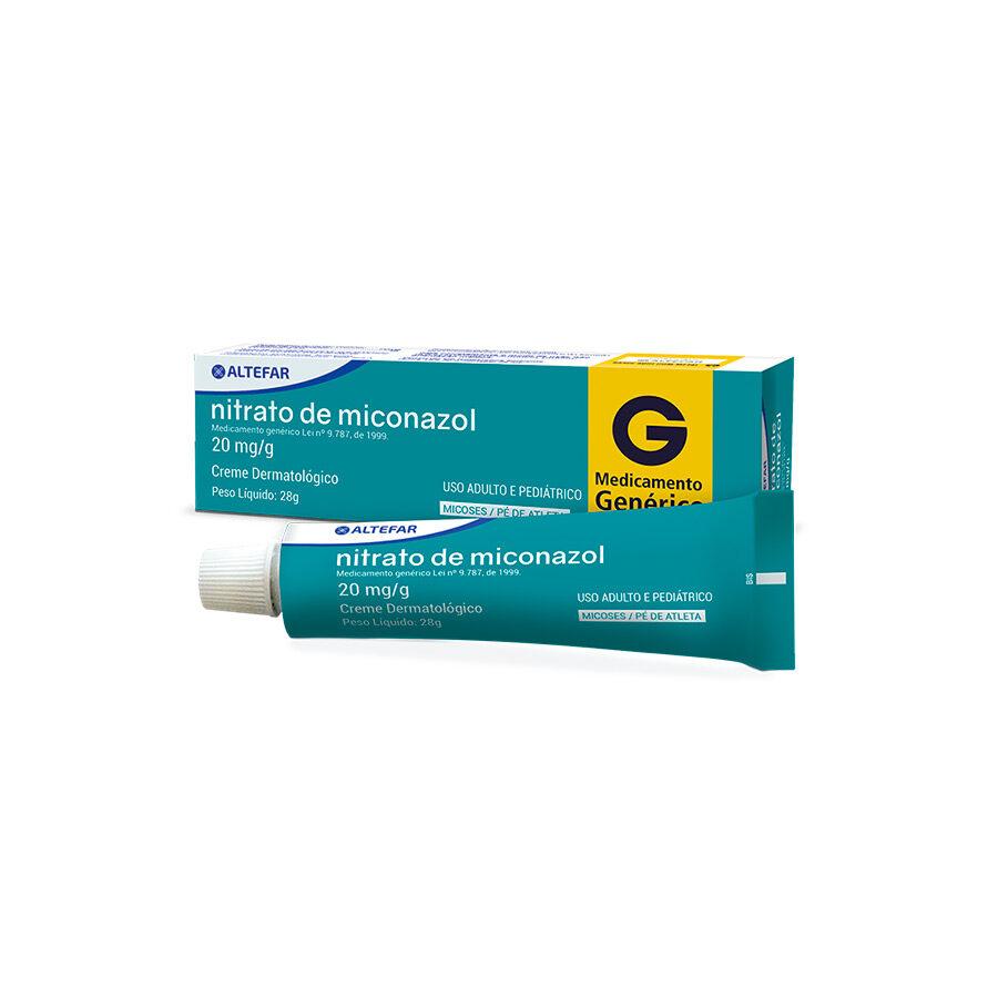Nitrato de miconazol 20mg/g Creme Dermatológico